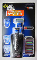 Бритва Gillette Fusion ProGlide Styler 3-in-1 + 5 сменных кассет Gillette Fusion ProGlide Power, фото 1