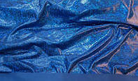 Ткань Бифлекс с напылением голограмма Электрик