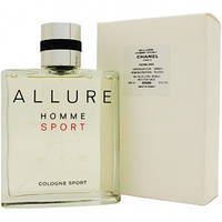 Мужская туалетная вода Chanel Allure Homme Sport (шанель аллюр хом спорт),тестер без крышки