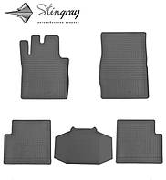 Stingray Модельные автоковрики в салон Mercedes-Benz W461 G 1992- Комплект из 5-и ковриков (Черный)