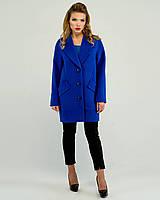 Прямое женское пальто