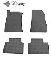 Stingray Модельные автоковрики в салон Nissan Juke  2010- Комплект из 4-х ковриков (Черный)