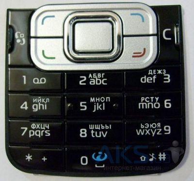 7d4b95375530c Клавиатура (кнопки) Nokia 6120 Classic Black, цена 62 грн., купить в ...