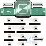 Клавиатура (кнопки) Sony Ericsson T650 Green