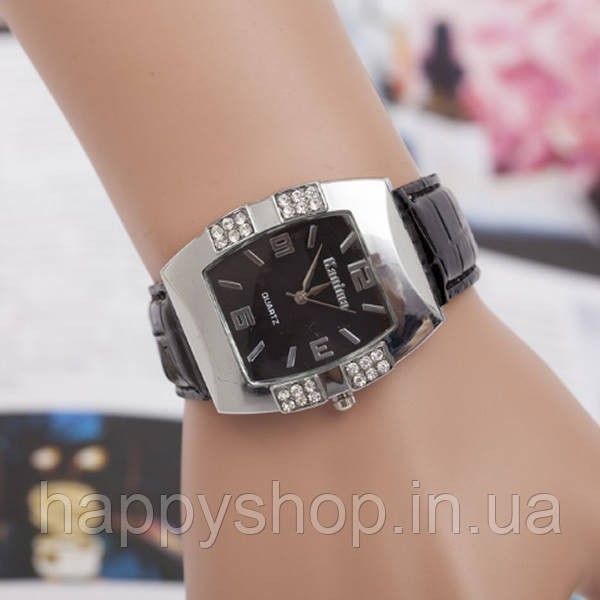 Часы женские наручные Geneva New Style (черные)