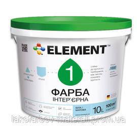 Интерьерная краска ELEMENT 1 Econom