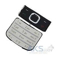 Клавиатура (кнопки) Nokia 6700 Classic Silver