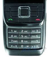 Клавиатура (кнопки) Nokia E66 Black
