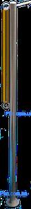 Леерная стойка ограждение из нержавейки для понтона