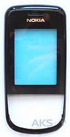 Передняя панель корпуса (рамка дисплея) Nokia 6600sl + Lens Black original