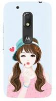 Чехол для Motorola MOTO G4 Play XT1602 (Girl)