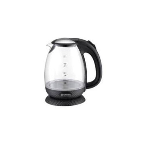 Электрочайник Satori SGK-4050-BL 1,7л/ 2000Вт,диск,стекло,подсветка