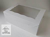 Коробка 255/180/90мм белая с окном