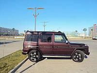 Дефлекторы окон (ветровики) Mercedes Benz G-klasse (W463) 1990