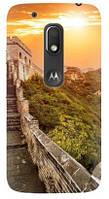 Чехол для Motorola MOTO G4 Play XT1602 (Дорога)