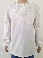 Вишита сорочка для дівчинки з довгими рукавами Батист 92 e87b38c1c0b9e