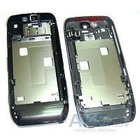 Средняя часть корпуса Nokia E66 Grey