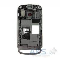 Средняя часть корпуса Nokia C2-02 Black