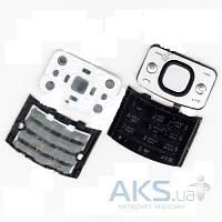 Клавиатура (кнопки) Nokia 6700 Slide Silver