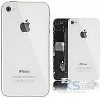 Задняя часть корпуса (крышка аккумулятора) Apple iPhone 4 White