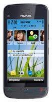 Средняя часть корпуса Nokia C5-06 Grey