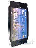 Средняя часть корпуса Nokia X7 Silver