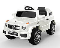 Эл-мобиль T-785 WHITE джип на р.у. 2*6V4.5AH мотор 2*25W с MP3 117*69*53