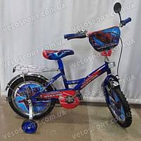 Детский велосипед Mustang Человек Паук 16 дюймов