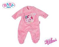 Комбинезон розовый для куклы Baby Born Zapf Creation 822128