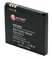 Аккумулятор LG KE850 Prada / LGIP-A750 / DV00DV6062 (600 mAh) ExtraDigital