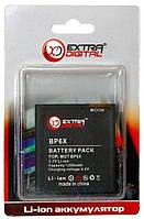 Аккумулятор Motorola Milestone / BP6X / BMM6258 (1200 mAh) ExtraDigital