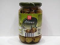 Зелёные оливки без косточки K-Classic  330 г.