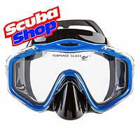 Маска Dolvor Maxlux для плавания и подводной охоты, цвет синий