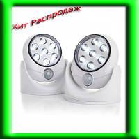 Беспроводной светодиодный светильник с датчиком движения
