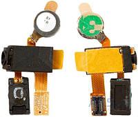Шлейф для Samsung i5700 с коннектором наушника, динамиком и вибратором