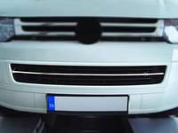 Накладки на решетку бампера Volkswagen Multivan T5