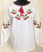 Жіноча вишита сорочка з калиною великі розміри 0749940dc3f97
