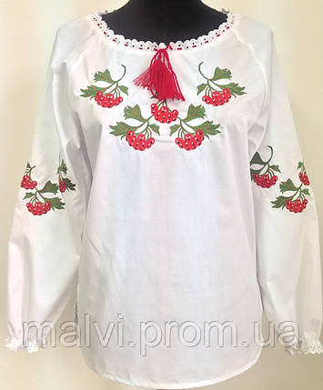 Жіноча вишита сорочка Калина з довгим рукавом  продажа e57b87b4e04cd