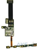 Шлейф для Nokia E66 с кнопкой включения, кнопками громкости и разъемом SIM-карты, карты памяти Original
