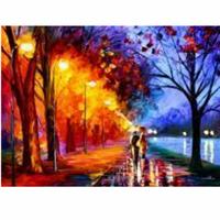 Набор для рисования по номерам Осенний вечер. Променад MG234