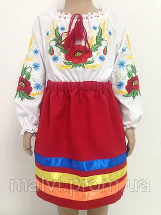 Вишитий костюм для дівчики спідниця і вишиванка  продажа dca352d036c7b