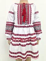 Костюм для дівчики в українському стилі спідниця і сорочка 98