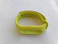 Оригинальный ремешок для фитнес-браслета Xiaomi Mi Band 2 салатовый