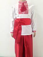 Костюм для хлопчика в українському стилі сорочка та шаровари з поясом