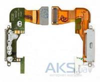 Шлейф для Apple iPhone 3GS с разъемом зарядки Original White