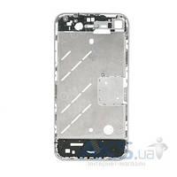 Средняя часть корпуса Apple iPhone 4 Silver