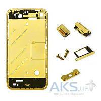Средняя часть корпуса Apple iPhone 4 Gold