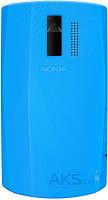 Задняя часть корпуса (крышка аккумулятора) Nokia 205 Asha Original Blue