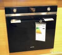 VIP ITALY духовой шкаф 79 литров, подсветка неоном и стильный дизайн. Smeg SF122TN