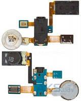 Шлейф для Samsung i9100 Galaxy S2 с разъемом гарнитуры, динамиком, микрофоном и вибромотором Original